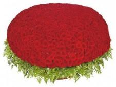 Корзина из 1001 роза