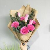 Букет Прелести пионовидных роз