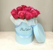 Шляпная коробка розы Чери