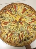 Пицца Чизбургер, 10 см.