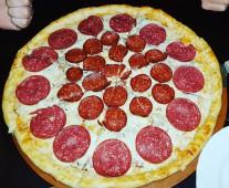 Пицца Мясной пир, 25 см.