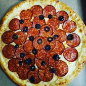Пицца Пепперони, 10 см.