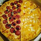 Пицца 4 сыра, 25 см.