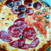 Пицца 4 сезона, 40 см.