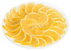Нарезка лимонная