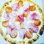 Пицца 5 мяса, 25 см.