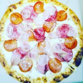 Пицца 5 мяса, 30 см.